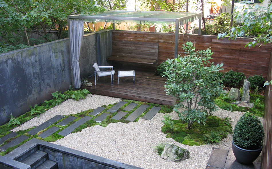 Commercial Landscaping Designs With Letters Asymmetrical Raised Bed