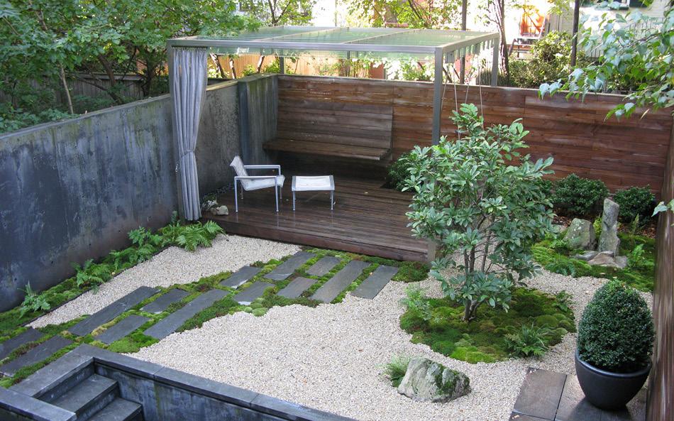 Een moderne stadstuin in brooklyn tuinenstruinen org for Gartenbepflanzung modern