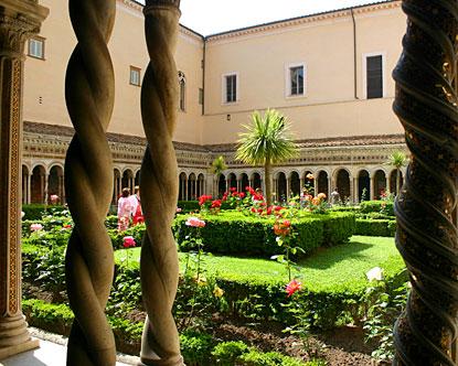 Renaissance tuin in Italië.