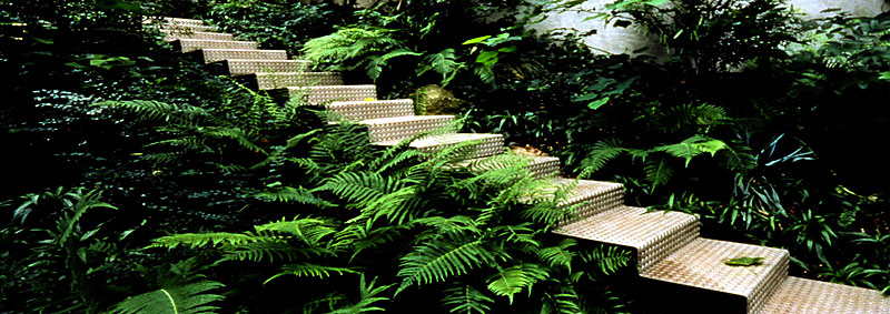 Bostuin met low impact moderne elementen tuinenstruinen org - Eigentijdse landscaping ...