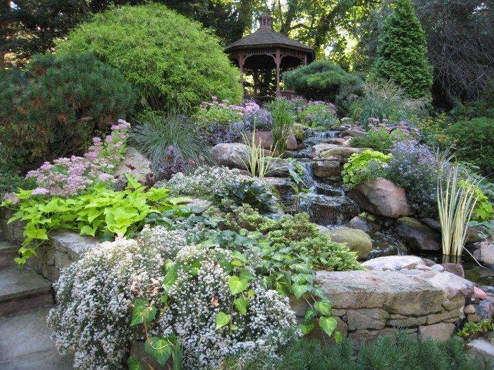 Vijvers brengen leven en rust in de tuin tuinenstruinen org - Tuinmodellen met rollen ...