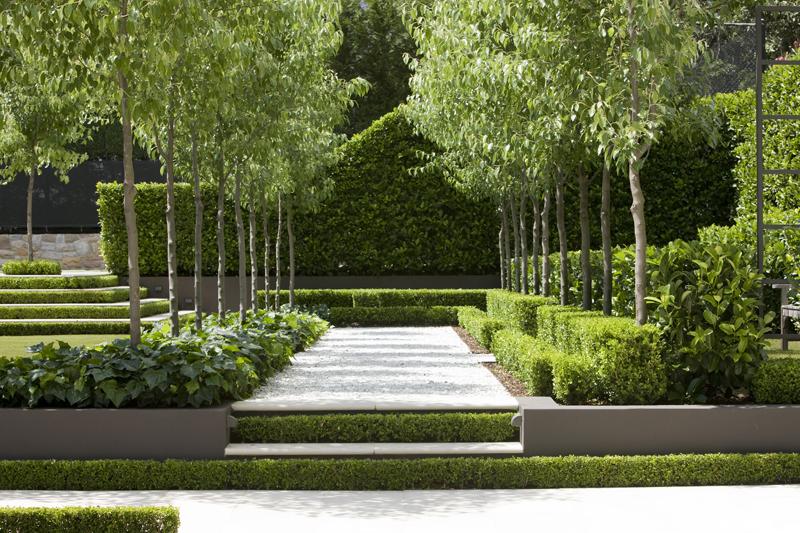 Classic French tuin van Peter Fudge in Sydney