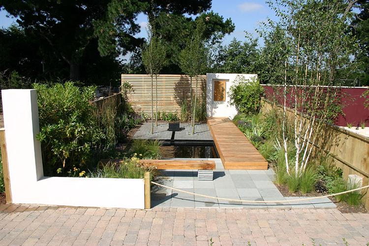 Spannend ontwerp voor stadtuin van slechts 40 m2 tuinenstruinen org - Kleine lay outs het oppervlak ...