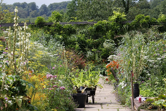 gravetye walled garden