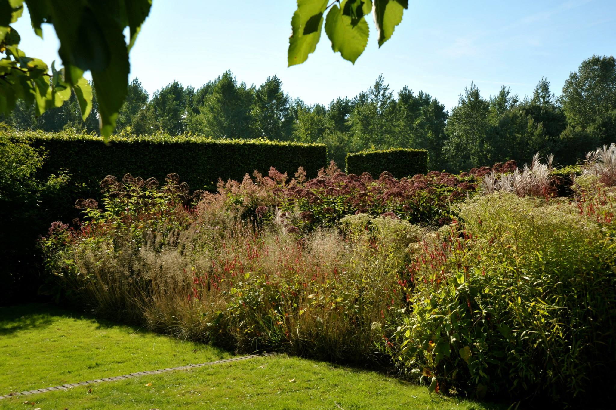 Brown is also a color herfst bij piet oudolf in hummelo for Piet oudolf pflanzplan