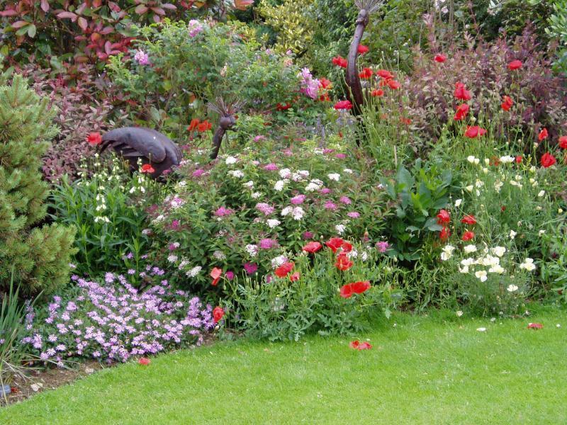 Poppy Cottage Garden in Cornwall u2013 TUINENSTRUINEN.ORG