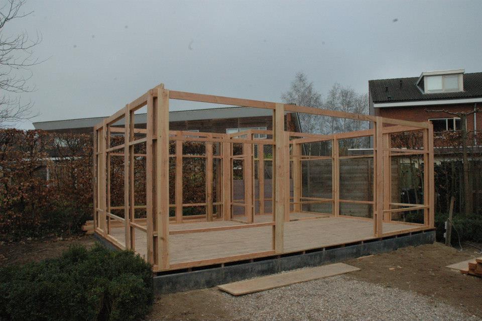 Een TOOPhuis in aanbouw