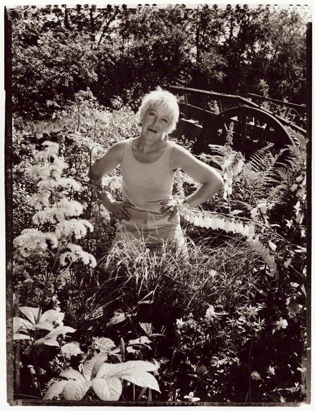 NPG P1026(20); Carol Klein by Tessa Traeger