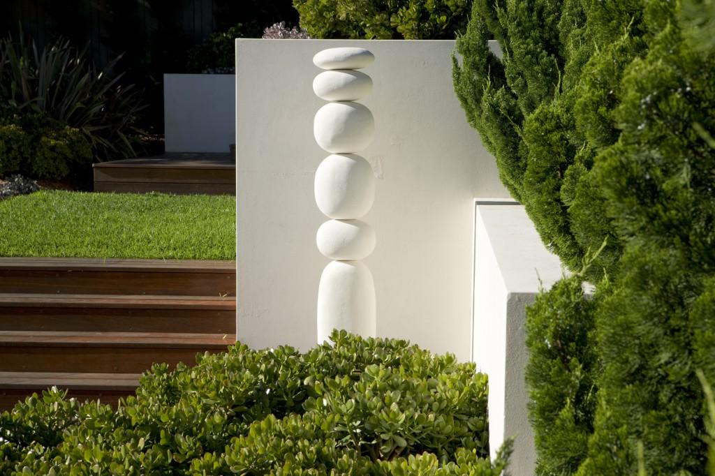 Kunstobjecten Voor Tuin : Een stoere leeftuin aan de kust u tuinenstruinen