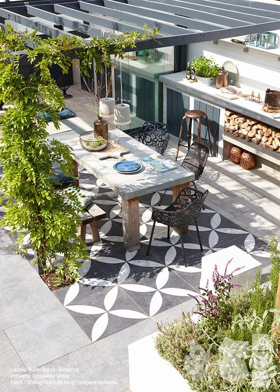 Vt wonen tuin 31 tuinenstruinen org - Moderne buitentuin ...