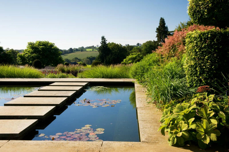 De tuinen op landgoed Broughton Grange