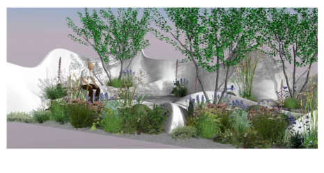 Pure Land Foundation Garden door : Fernando Gonzalez