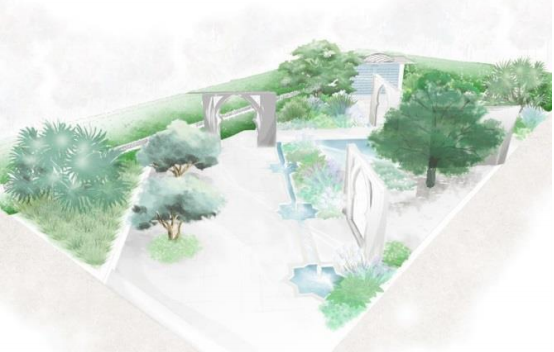Beauty of Islam Garden door Kamelia Bin Zaal