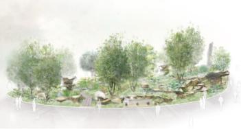Laurent Perrier Chatsworth Garden door Dan Pearson