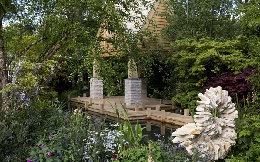 The MG Retreat Garden