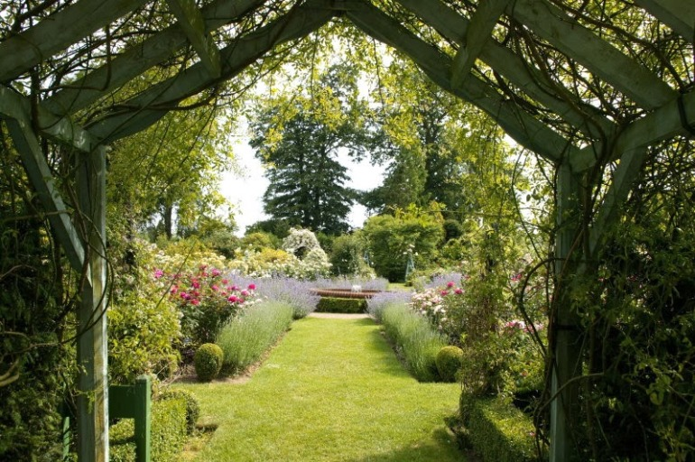 De mediterrane tuin.