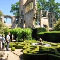 De tuinen van Sudeley Castle in de Engelse Cotswolds