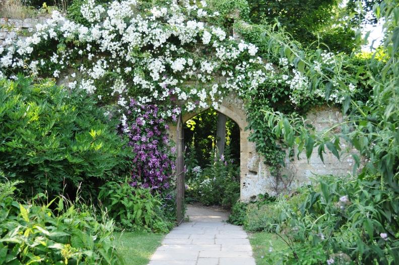 Een van de romantische doorgangen