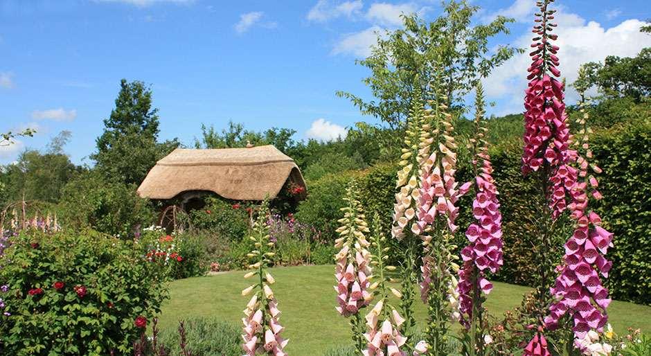 Detail van de Cottage Garden van Rosemoor.