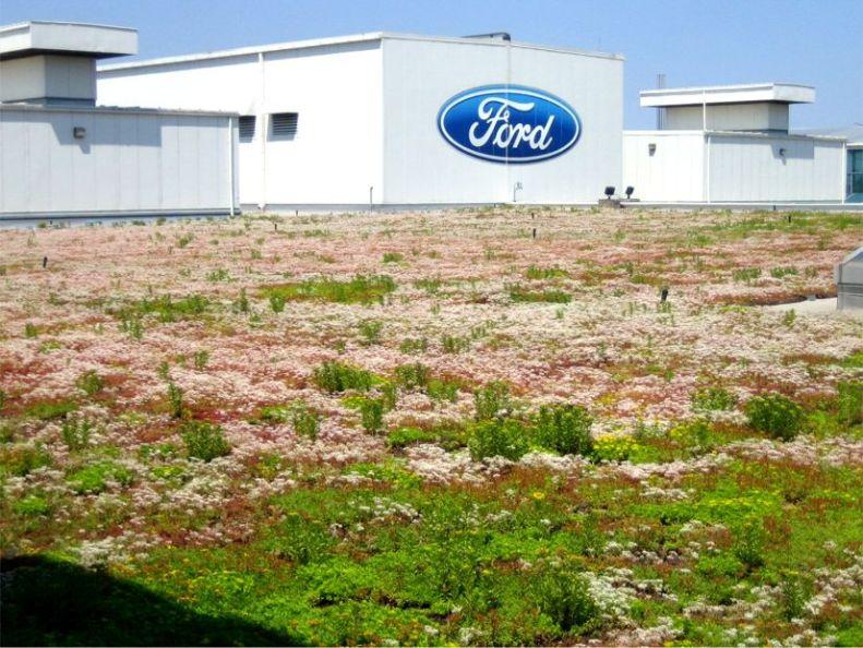 Ford-fabriek in Michigan