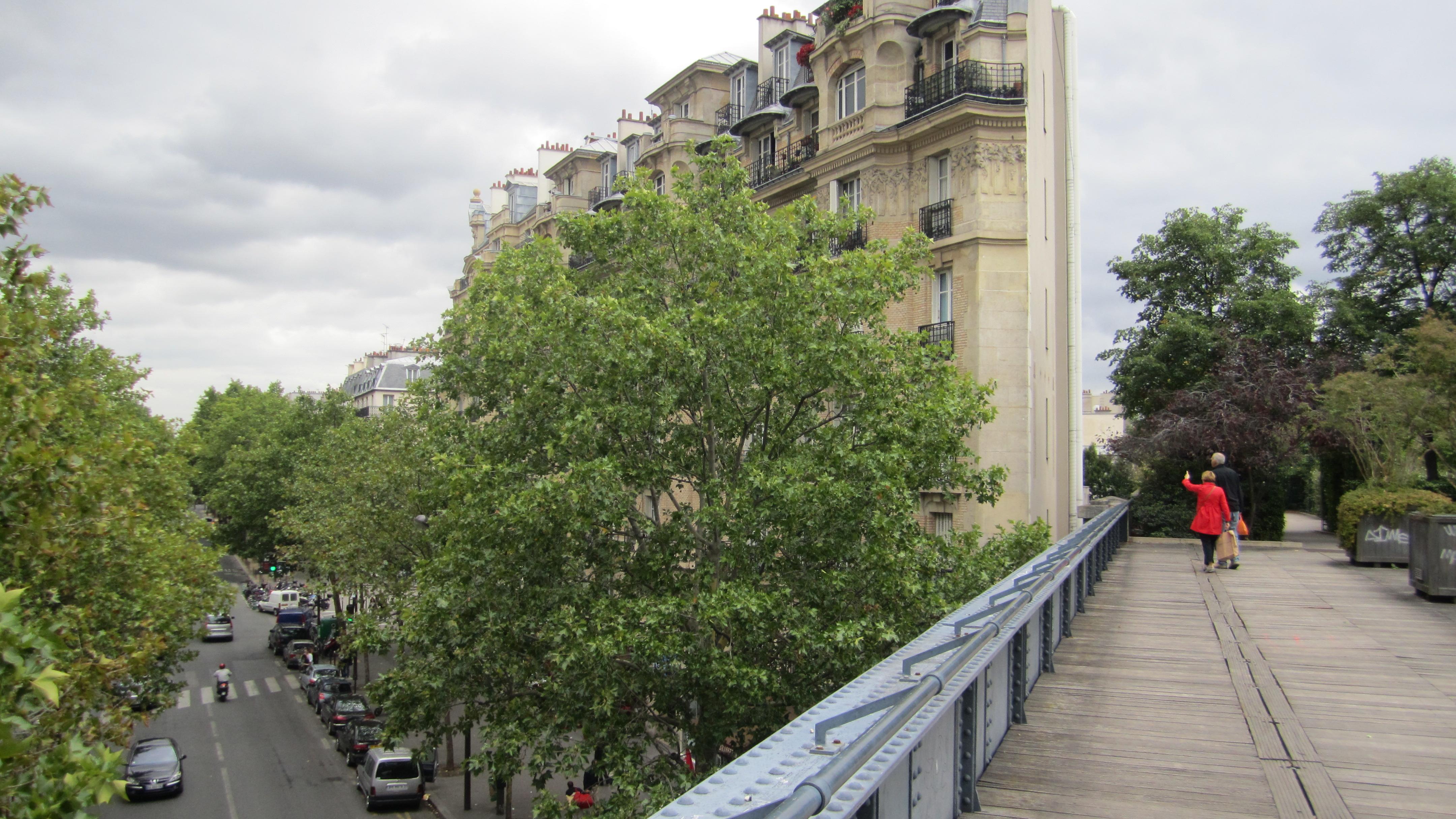 Promenade Plantée in Parijs was inspiratie voor High Line New York