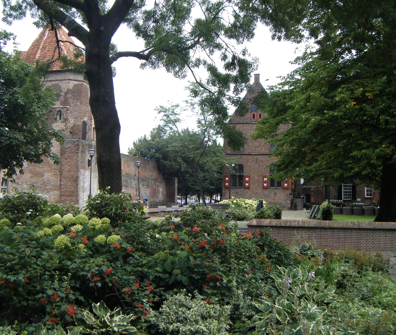 """Harry Pierik; """"Het Broerenkerkplein, een oase in de binnenstad van Zwolle"""""""