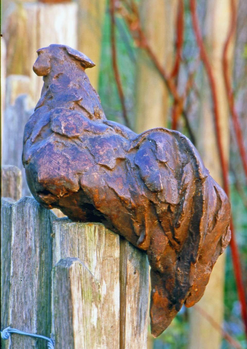 Haan (brons) Ad Haring