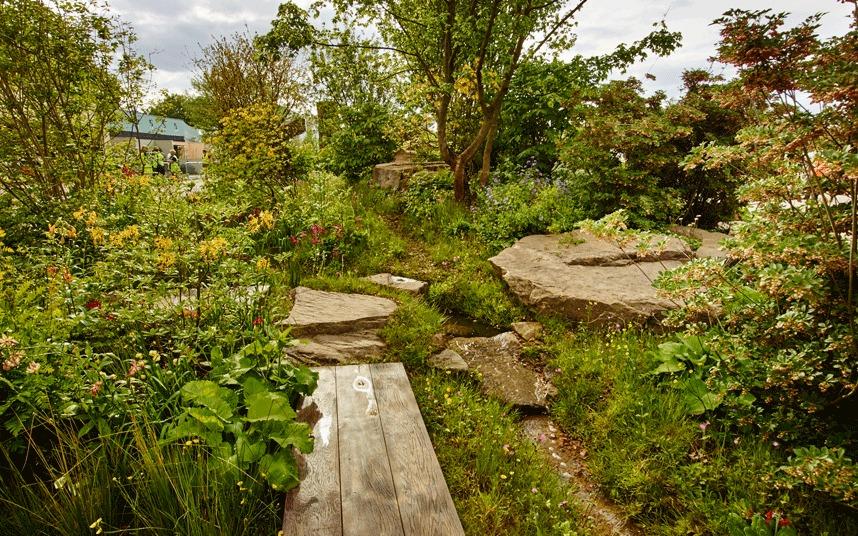 Chatworth Garden, de winnende tuin in 2015 van Dan Pearson