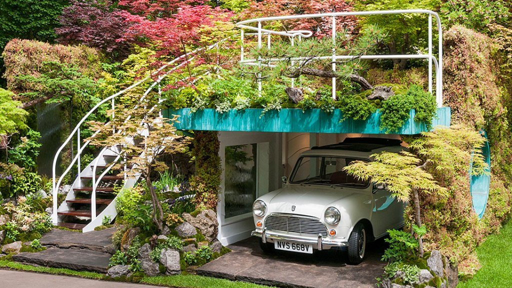 Senri-Sentei - Garage Garden door Kazuyuki Ishihara