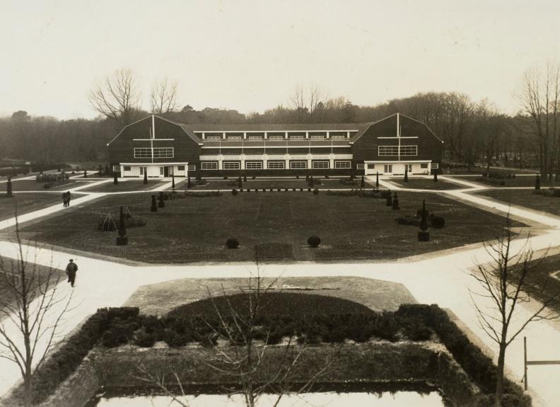 Tersteeg Floraliatentoonstelling expositiegebouw 1925