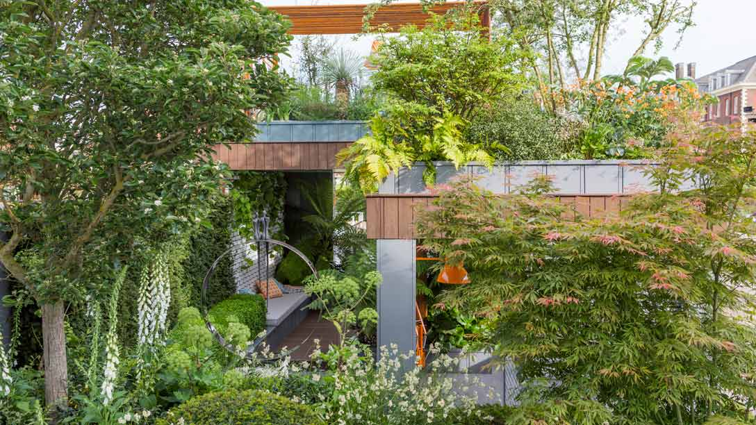 De 'Golden Gardens' van RHS Chelsea Flower Show 2017