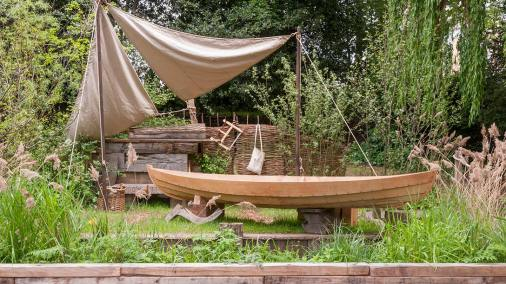 The IBTC Lowestoft: Broadland Boatbuilder's Garden -Gary Breeze