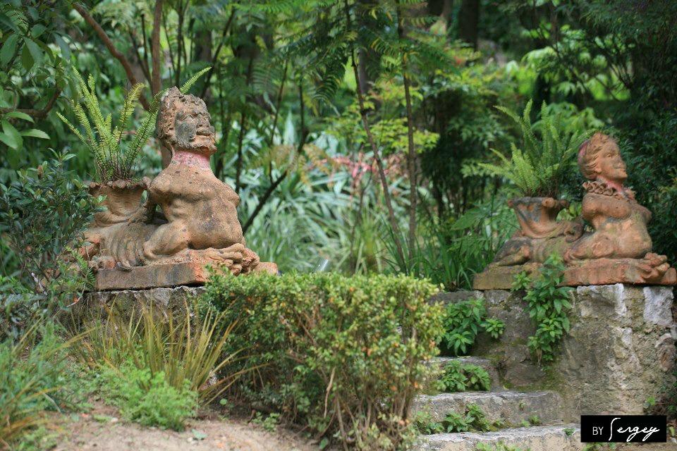Major Johnston's Jardin de la Madone in Menton