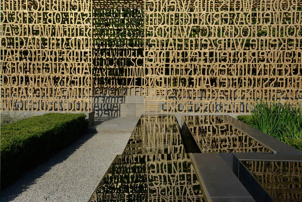 The Written Garden, een tuin die gelezen mag worden