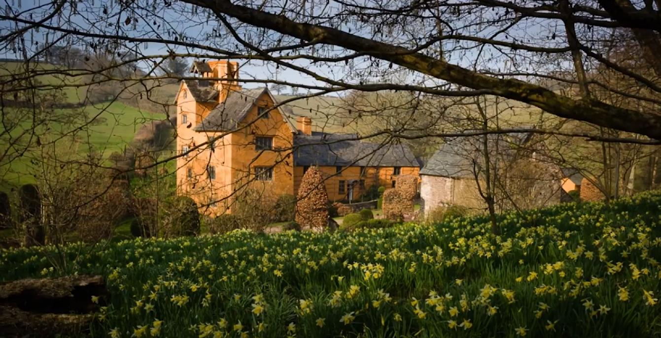Allt-y-bela Arne Maynard's eigen tuin in Wales