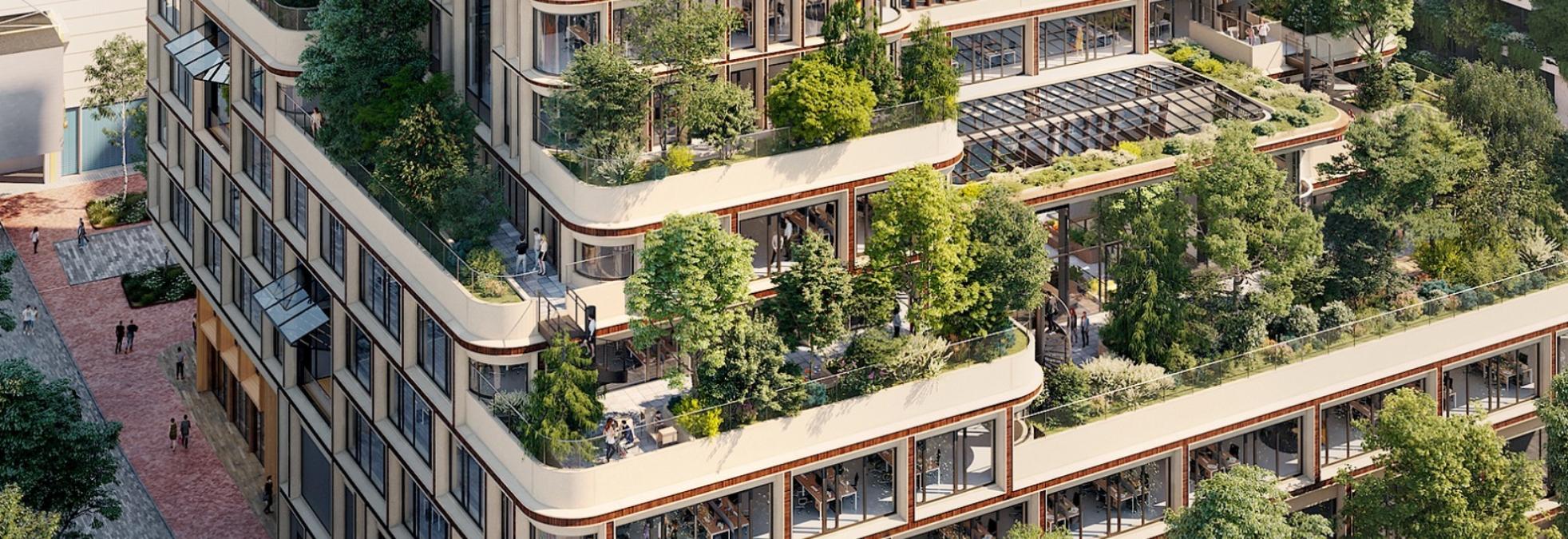 Wonderwoods in Utrecht, goed  voorbeeld natuur-inclusief bouwen